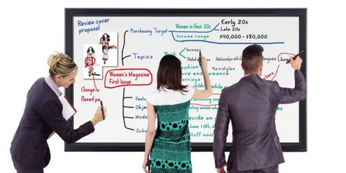 panasonic lanserar whiteboard-display