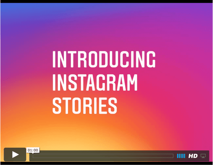 instagrams nya funktion: gör en historia om ditt event