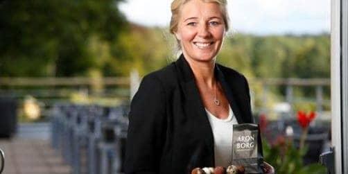 Foto: Jessica Karlsson, vd för Aronsborgs Konferenshotell AB.