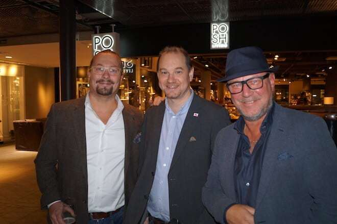 Chris Jolly - Ligula Hospitality Group, Erik Sangevie - Livebrand, Anders Müller - Livebrand