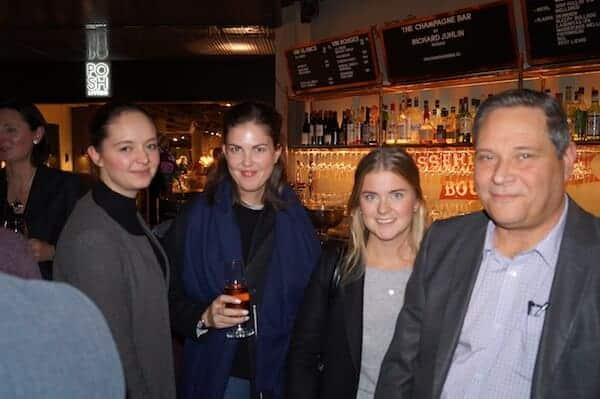 Inez Gara - Student Tec, Liza Holmström - Student Tec, Olivia Åhs - Student Tec,  Hansi Sundström - Workman Event