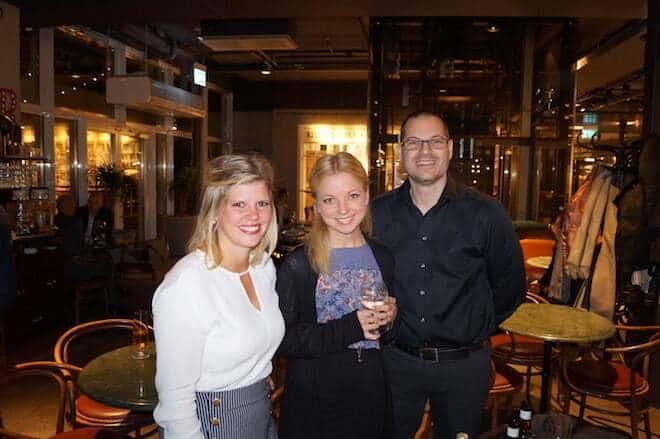 Mickaela Gabrielsson - Student Tec, Amanda Hörnell - Student Tec, Johannes Bethanis - Stockholmsmässan