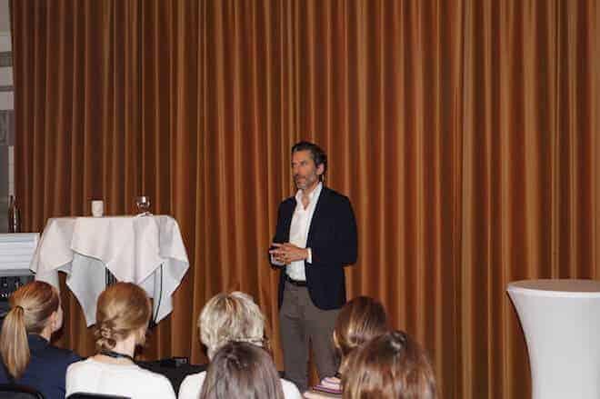 Jens Lapidus, andra talaren för dagen.