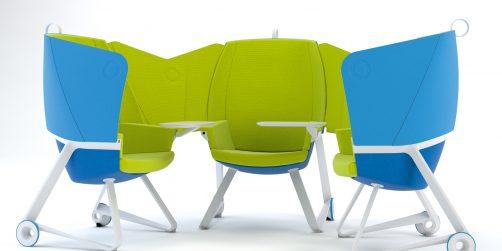 ny stol bjuder på möjligheter för kreativa möten