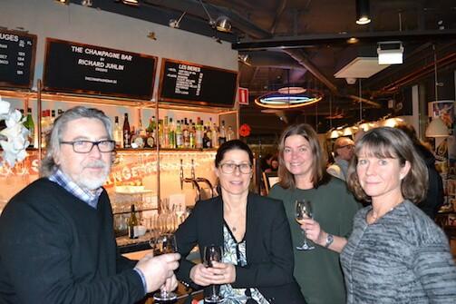 Peter Bäärnhielm - Stockholmsmässan, Maria King - Stockholm City Conference Center, Catarina Söderlund - Visma, Carola Skoog - Stockholmsmässan