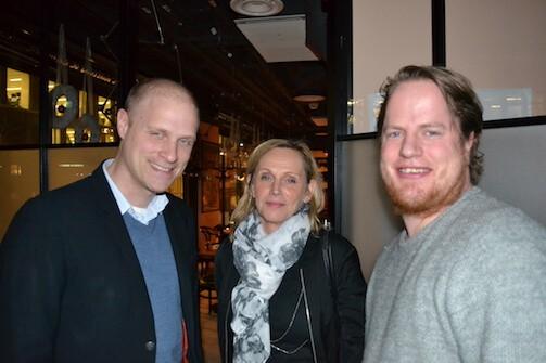 Niklas Tyllström - Green Hat People, Mia Woll Hedin - Svedavia, Fredrik Placht - FPL