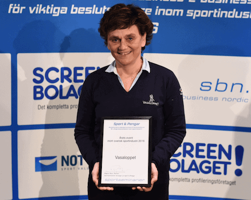 Årets event prisas av sport & pengar 2016
