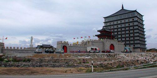till salu: nu har du chansen att köpa en kinesisk borg