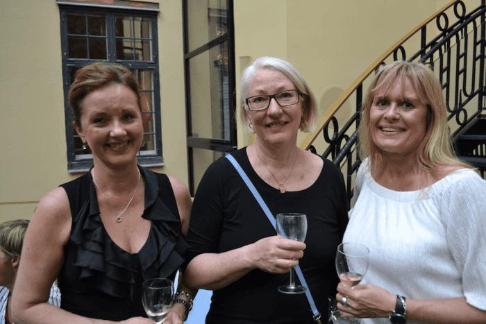 Anna-Karin Sellén Lövstedt, Katarina Liljegren Swahn & Katarina Stylander från City Conferens Centre Stockholm