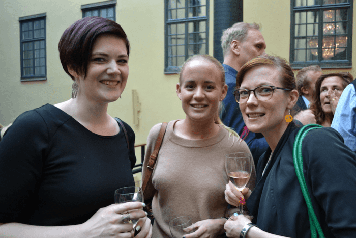 My Lundström, MyModerator. Charlotte Andersson, Profile Agency & Frida Panoussis, FridaRit