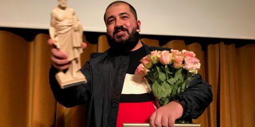 milad mohammadi vinner stora talarpriset 2017