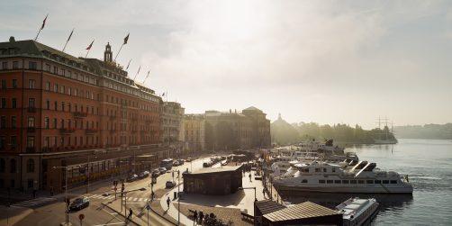de vinner årets personalfest på nya grand hôtel i vinterträdgården
