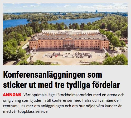 lista: 57 spännande konferenscenter i centrala stockholm