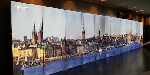 lysande lösning lyfter stockholms stad på mässor och utställningar