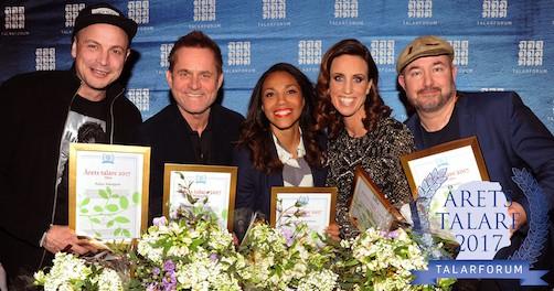 här är vinnarna av Årets talare