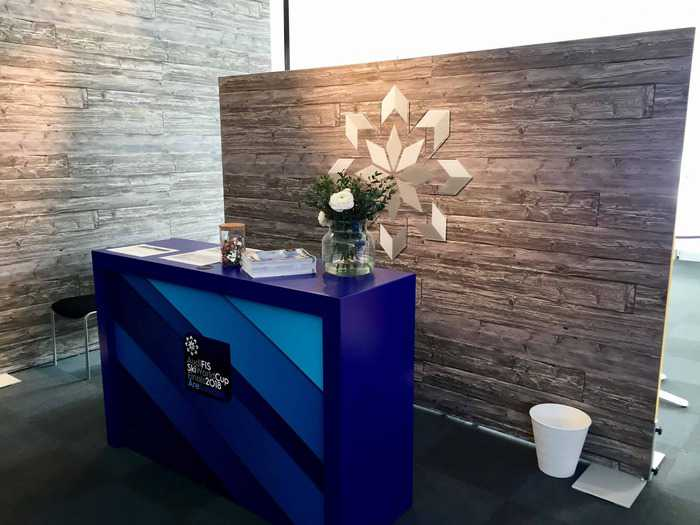 4. Welcome desk