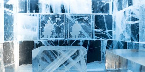världsunik nyhet till icebar stockholm