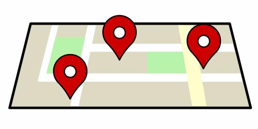 google maps: funktion som visar evenemang