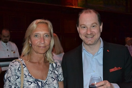 Chris Jolly, Ligula hospitality group & Anna Palmer, First class services of Sweden