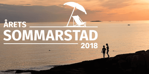 Årets sommarstad 2018 ska utses