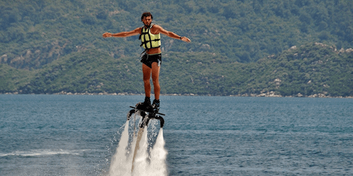 flyboarding 5 tips: Konferensaktiviteter på vattnet