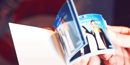 the flipbook by sharingbox, a new engaging tool for brands' events