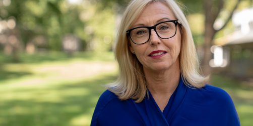 På bilden: Christina Kilström, Stockholmsmässans nya marknadsdirektör. FOTO: Stockholmsmässan