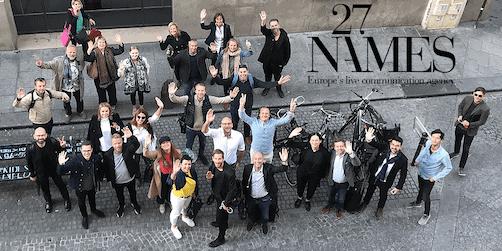 de växer med hjälp av 20 internationella eventbyråer