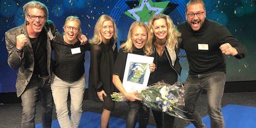 sofi franzén tar hem priset som Årets vd