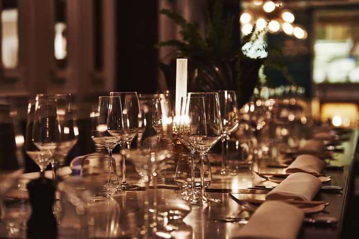 sales manager; restaurants & event