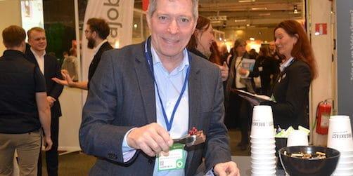 På bilden: Niklas Hollström