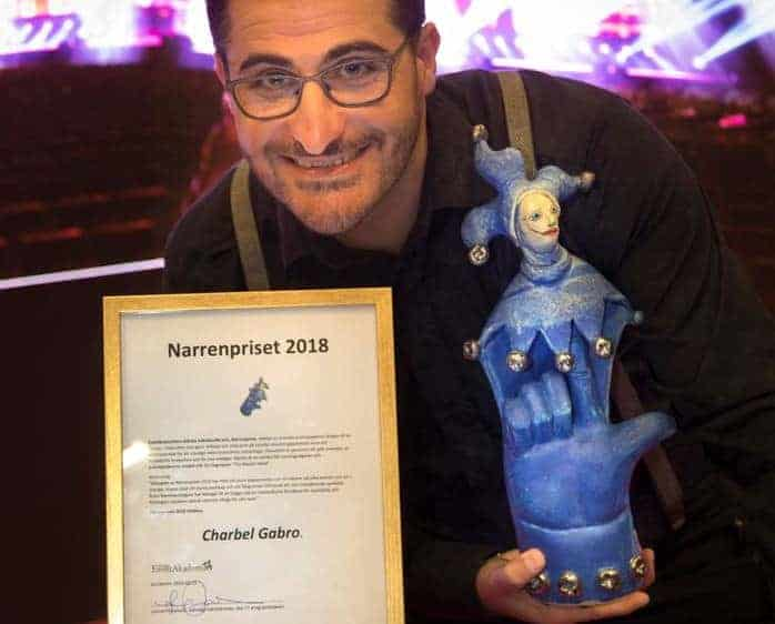 narren2 Han vinner Narrenpriset 2018