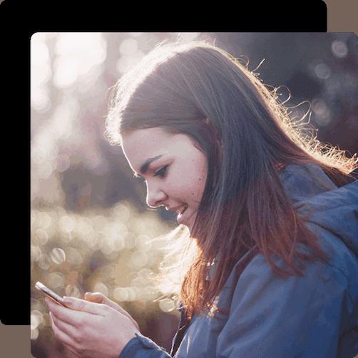 forrest girl phone wframe