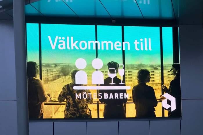Mötesbaren på Uppsala Konsert & Kongress