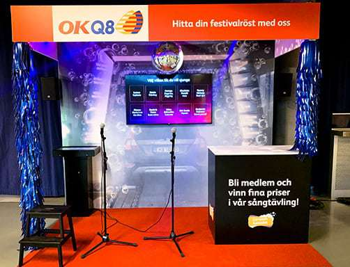 workman event producerar okq8 monter08