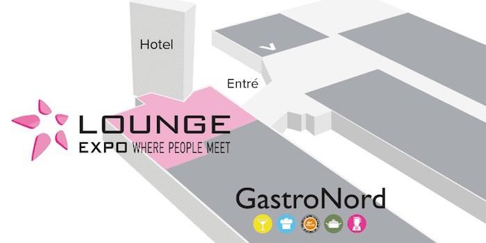Lounge Expo arrangeras 2020 för första gången tillsammans med GastroNord.