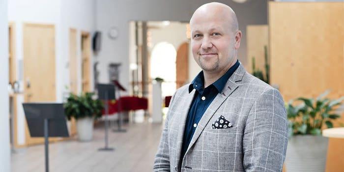 På bilden: Magnus Petersson