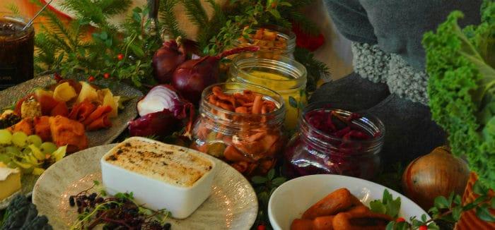 julbord test Spännande smaker på Stockholms grönaste julbord