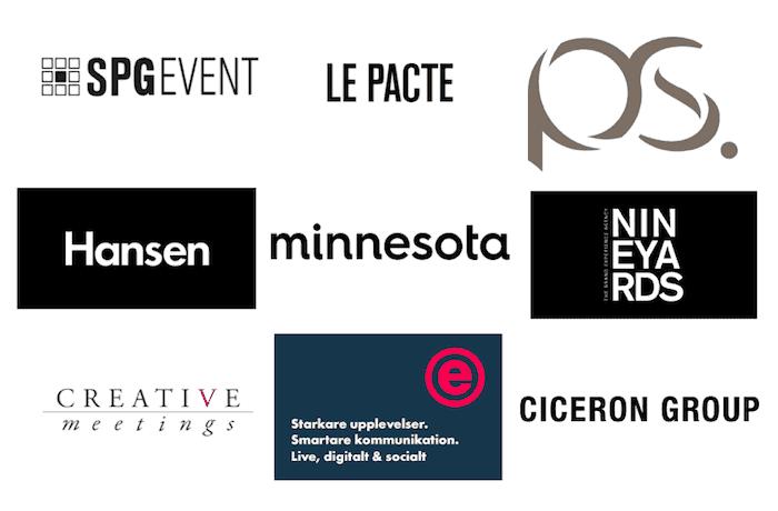 Största eventbyråerna 2018