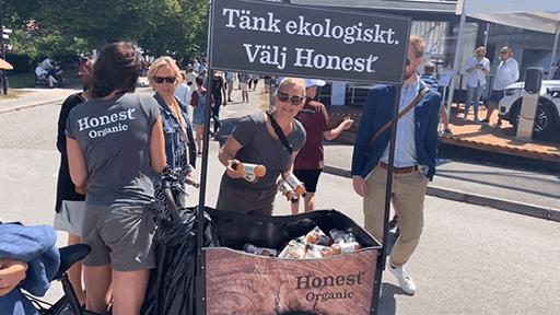 honest almedalen2019 1 Honest Organic, Action Marketing i Almedalen
