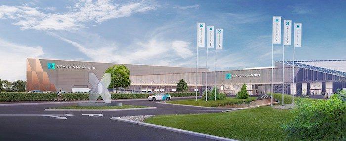 sxpo front daytime Scandinavian XPO är den nya anläggningen i framkant