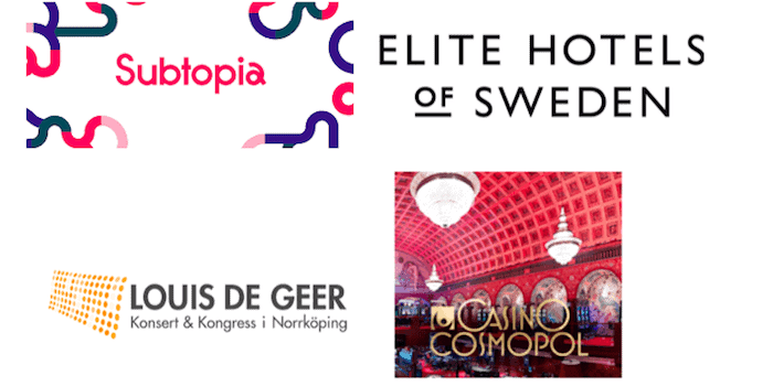 subtopia elite hotels louis de geer konsert kongress casino cosmopol Aktuella leverantörer