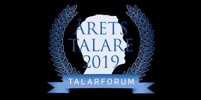 Årets talare 2019