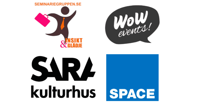 seminariefruppen wow events sara kulturhus space productions
