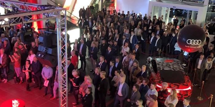 Bild: Robot Event. Premiar Audi Center i Kista