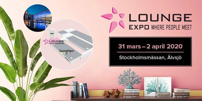 lounge expo Hotellbranschens viktigaste möten