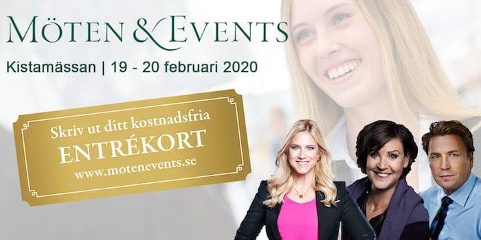 Möten och Events 2020 Eventeffect