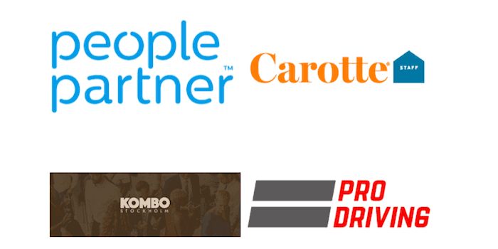 people partner carotte staff kombo stockholm pro driving