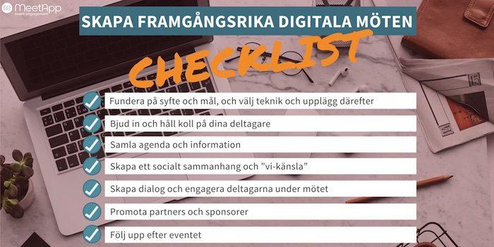 checklist meetapp