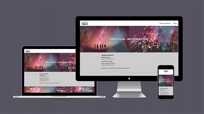 Fashionfestival site